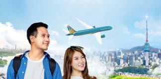 Vietnam Airlines khai thác các chuyến bay từ Việt Nam đến Hàn Quốc