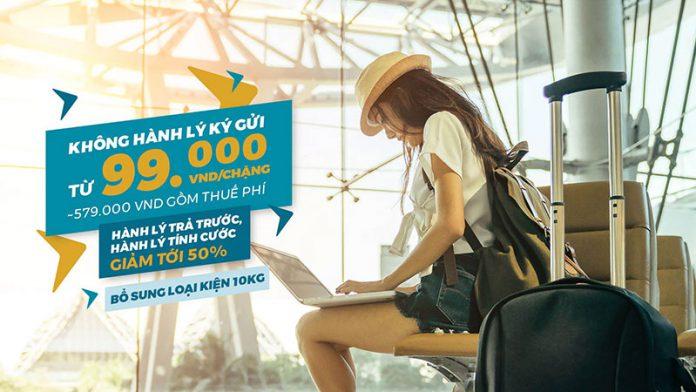 Mua vé máy bay Vietnam Airlines không hành lý chỉ từ 99.000 VND