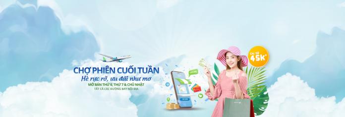 Khuyến mãi từ Bamboo Airways giá vé máy bay chỉ 45.000 VND
