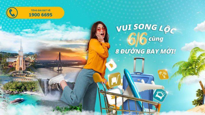 Vé máy bay khuyến mãi chỉ 66.000 từ Vietnam Airlines