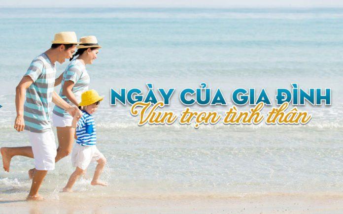 Nhân ngày gia đình Vietnam Airlines giảm 10% giá vé máy bay