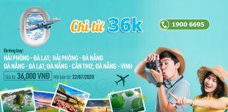 Khuyến mãi đường bay mới từ Bamboo Airways giá vé chỉ 36.000 VND