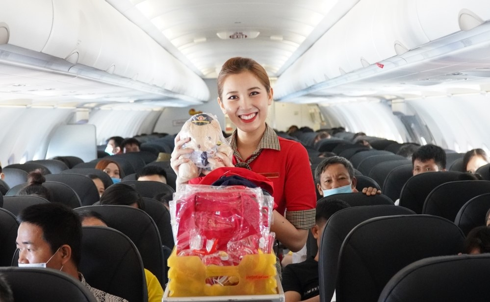 Vietjet Air khuyến mãi giảm 50% giá vé bay trải nghiệm Việt Nam
