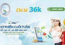 Chỉ từ 36.000 VND đón hè rực rỡ cùng Bamboo Airways