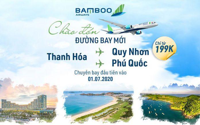 Bamboo Airways mừng 3 đường bay mới khuyến mãi chỉ từ 199.000 VND