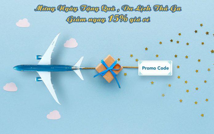 Vietnam Airlines khuyến mãi ngày tặng quà du lịch thả ga