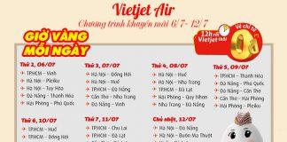 Khuyến mãi vé máy bay chỉ từ 0 đồng du lịch thả ga cùng Vietjet Air