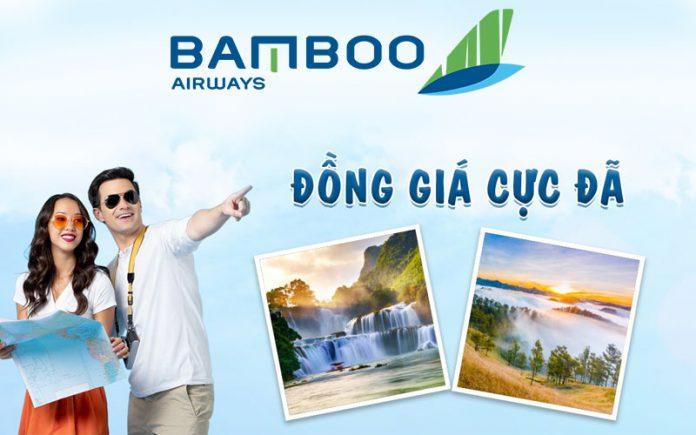 Combo khuyến mãi 4 vé máy bay chỉ từ 800.000 VND từ Bamboo Airways