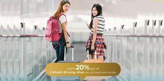 Mừng ngày phụ nữ Việt Nam Vietnam Airlines khuyến mãi giảm 20%