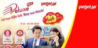 Khuyến mãi 4.5 triệu vé máy bay mùa lễ hội từ Vietjet Air