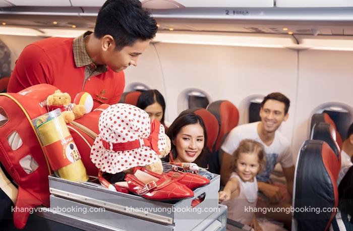 Khuyến mãi giảm 50% giá vé bay cực chất cùng Vietjet Air