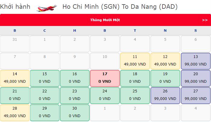 Vé máy bay 0 đồng hành trình Hồ Chí Minh đi Nha Trang