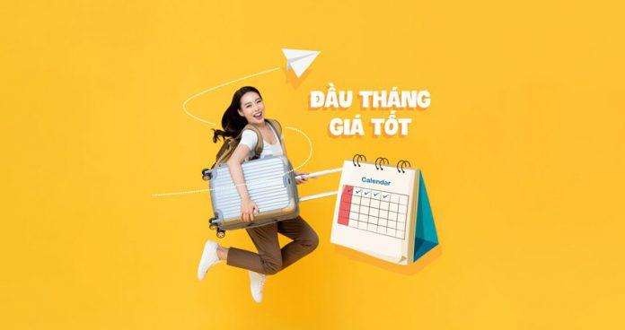 Khuyến mãi đầu tháng giá tốt chỉ từ 69.000 VND Vietnam Airlines