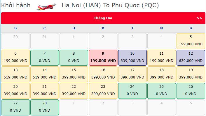 Khuyến mãi vé máy bay 0 đồng từ Vietjet