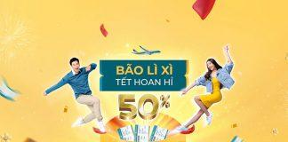 Vietnam Airlines khai xuân khuyến mãi vé máy bay chỉ từ 502.000 VND