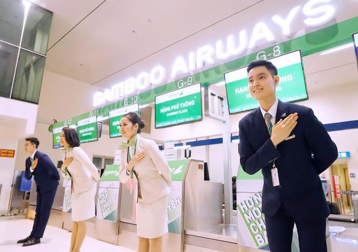 Bamboo Airways khuyến mãi cuối tuần giảm 20% giá vé