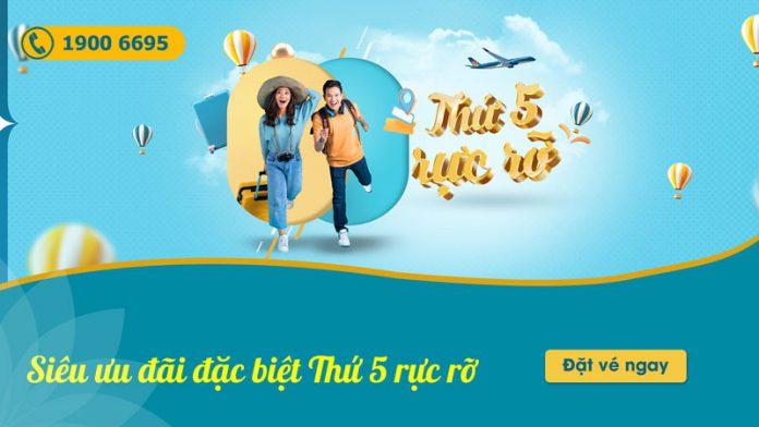 Vietnam Airlines khuyến mãi thứ 5 rực rỡ chỉ từ 502.000 VND