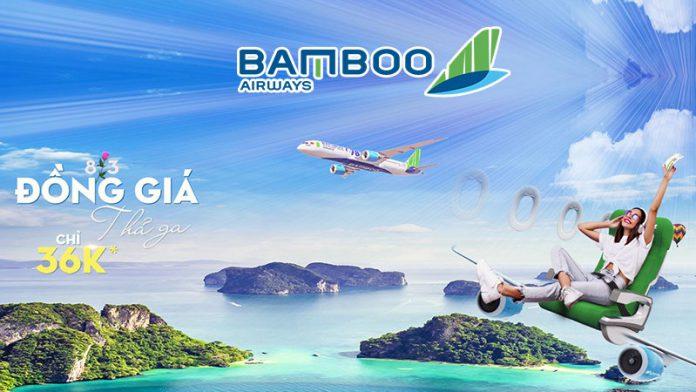 Khuyến mãi Bamboo Airways mừng ngày 8/3 đồng giá thả ga