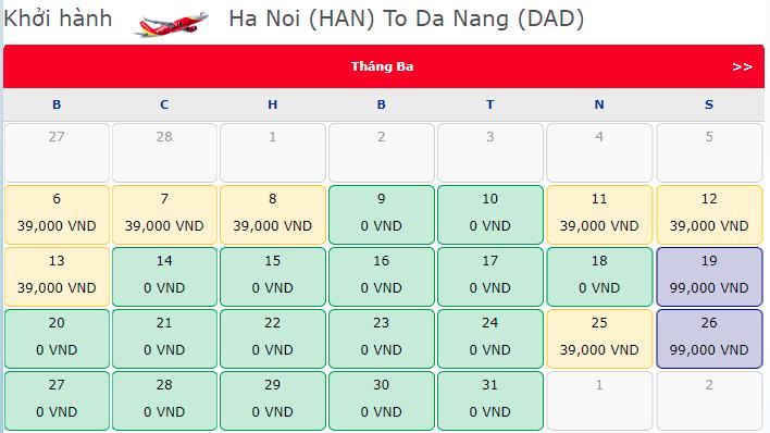 Vietjet Air khuyến mãi mừng ngày 8/3 chỉ từ 0 đồng