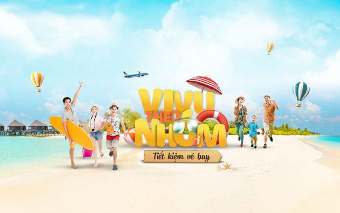 Giảm đến 15% vivu theo nhóm khuyến mãi từ Vietnam Airlines
