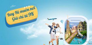 Bay hè muôn nơi chỉ từ 9.000 VND khuyến mãi Vietnam Airlines