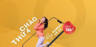 Bamboo Airways khuyến mãi thứ 4 bay vô tư chỉ từ 36.000 VND
