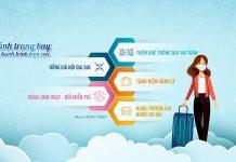 Khuyến mãi Vietnam Airlines đồng giá 26.000 VND muôn vàn tiện ích