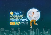 Vietnam Airlines khuyến mãi Mid – Night sales giảm 20% giá vé