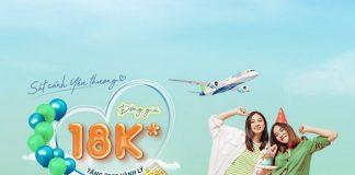 Bamboo Airways khuyến mãi đồng giá 18.000 VND
